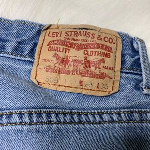 Levi's Shorts - Levi's 505s Distressed Worn Cutoffs Bermuda Shorts